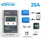 EPEVER 20A MPPT Solar Panel Controller Charge Wifi Serial Server+WIFI+MT50+BLE