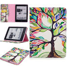 For Amazon Kindle Voyage Wallet Flip Card Printed PU Leather Stand Case Cover #E