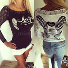 New Fashion Women Loose Long Sleeve Tops Blouse Shirt Casual Cotton T-Shirts