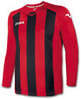 7 x Joma Pisa 10 Football Shirts sized 8-10 ideal for u8 or u9 football team