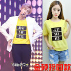 KPOP BTS JIN Concert same style Unisex Bangtan boys Just Say Yes Tshirt
