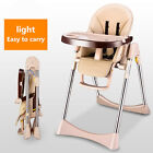 Hot Baby Dining Chair Multifunctional Folding Portable High Booster Feeding Seat