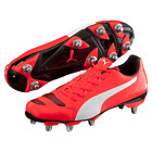 PUMA EVOPOWER 4.2 H8 RUGBY BOOTS - RED - RRP £54.99 - Free Postage