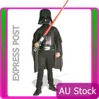 Deluxe Kids Childrens Star Wars Costume Darth Vader Black Child Boys Outfits