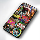 STAR WARS COVER COLLAGE BLACK PHONE CASE COVER FITS IPHONE 4 5 6 7 (#BH) £4.95 GBP