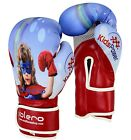 EVO Kids Boxing Gloves MMA GEL Punch Bag Muay Thai Martialart Training 4oz - 8Oz
