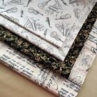 £1.45 Music Theme Cotton Print Fabric by Timeless Treasures Quilting Craft Sew