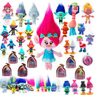 Movie Trolls Figure Poppy Branch Diamond Biggie Harper Plush PVC Doll Kids Toys