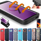Samsung Galaxy S8 S9+ Note8 Rugged Hybrid Shockproof Heavy Duty Hard Case Cover