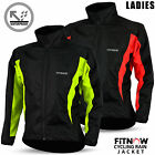 Ladies Women Cycling Jacket High Visibility Waterproof Running Top Rain Coat