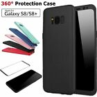 360 Full Body Shockproof Hybrid Case Soft TPU Cover Fr SAMSUNG GALAXY S8/S8 Plus