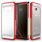 Samsung Galaxy S8 Case, Zizo FLUX Series w/ Screen Protector- Crystal Clear Back