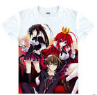 high school dxD standing girl Casual short sleeved Unisex Cloth T-shirt SL07 coo