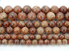 Natural Pomergranite Jasper Gemstone Round Beads 15.5'' 4mm 6mm 8mm 10mm 12mm