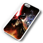 DARTH VADER TI-FIGHTERS RUBBER PHONE CASE COVER FITS IPHONE 4 5 6 7 (#WR)
