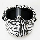 Adult Goggles Glasses Mask Shield Fantastic For Motorcycle Scooter Helmets FS945