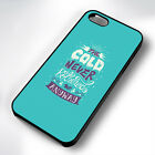 FROZEN COLD QUOTE RUBBER PHONE CASE COVER FITS IPHONE 4 5 6 7 (#BR)