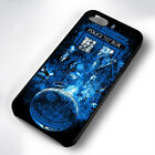 BLUE DOCTOR WHO COLLAGE RUBBER PHONE CASE COVER FITS IPHONE 4 5 6 7 (#BR)
