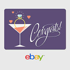 eBay Digital Gift Card - Wedding Engagement -  Fast email delivery