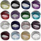 PREMIUM ORGANZA RIBBON 15 or 10mm FULL 10m REELS CHOICE OF 18 COLOURS