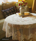 """Heritage Lace Victorian Rose 72"""" Round Tablecloth"""