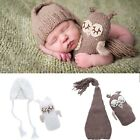 Newborn Baby Girls Boys Crochet Knit hat+Toys Photo Photography Prop Outfits