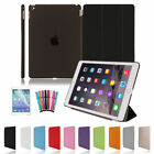 Pu Leather Smart Stand Cover Hard Back Case For Apple Ipad 4 3 2 Mini Air Lot