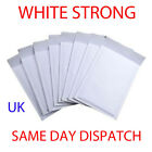 STRONG BUBBLE PADDED ENVELOPES MAILERS WHITE MAIL POSTAL BAGS UK CHEAP AND QUICK