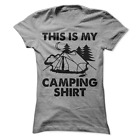 This Is My Camping Shirt Funny Women's T-Shirt B21