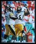 Joey Porter #55 Pittsburgh Steelers autographed 8x10 photo-w/COA private signing