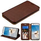 LG K4 K8 2017 Phoenix 3 Aristo Fortune LV 3 Leather Flip Wallet Case Cover Stand