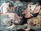 The Four Continents by Peter Paul Rubens reproduction Marble Mosaic