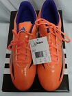 ADIDAS MEN'S F5 TRX FG SOLAR ORANGE SOCCER CLEATS NWB