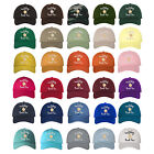 RESTING BEACH FACE Dad Hat Embroidered Summer Beach Baseball Caps - Many Styles