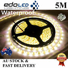 Waterproof 5M 12V Warm White 3528 SMD 300 LED Strips Led Strip Lights Car Boat