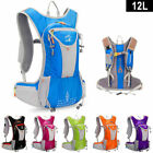 12L Light Weight Close-Fitting Hydration Pack Running Camping Hiking Backpack US