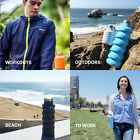 Fashion Que Bottle Collapsible Travel Bottle Sports Kettle Water Bottle Hiking