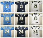 Youth's San Diego Chargers all sewn Jersey #21 Tomlinson #24 Mathews #85 Gates $19.99 USD