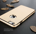 Leather Protective Shockproof Slim Hybrid Back Case Cover For iPhone 6 6S 7 Plus
