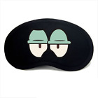 Emoji Black Eye Mask Cool & Warm Therapy Best Night Blinder Eyeshade Men Women