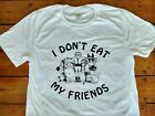 I Don't Eat My Friends T-shirt - Worn By Morrissey, Bernard Shaw Quote All Sizes