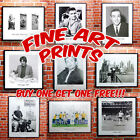 Black & White Fine Art Prints - High Quality Print Of Celebrities Stars Icons 2
