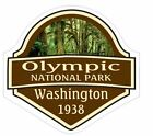 Olympic National Park Sticker Decal R1451 Washington You Choose Size