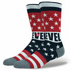 STANCE NEW Mens Red Gladiator Evel Knievel Socks BNWT