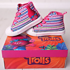 TROLLS shoes Trolls Canvas Shoes Trolls Trainers / Sneakers Original Size 27-34