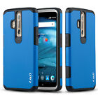 J&D ZTE Axon Pro [ArmorBox] Hybrid Shock Proof Protective Rugged Case