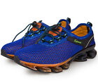 Men Breathable Running Hiking Shoes Shock Absorb Walking Sports Athletic Shoes