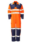 GRYZCO Flame Retardent Hi-Vis Boilersuit.