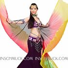 C126 Isis Wing Veil Belly Dancing Costume oriental Decor in 9 colors