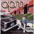 OPM (US INDIE METAL BAND) Menace To Sobriety CD German Atlantic 2000 15 Track